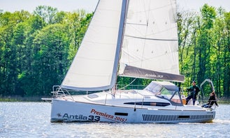 Charter the 33' Antila Sailboat in Wilkasy, Poland