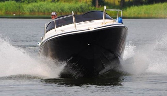Hire The 20' Viva Cabin Motor Boatin Wilkasy, Poland