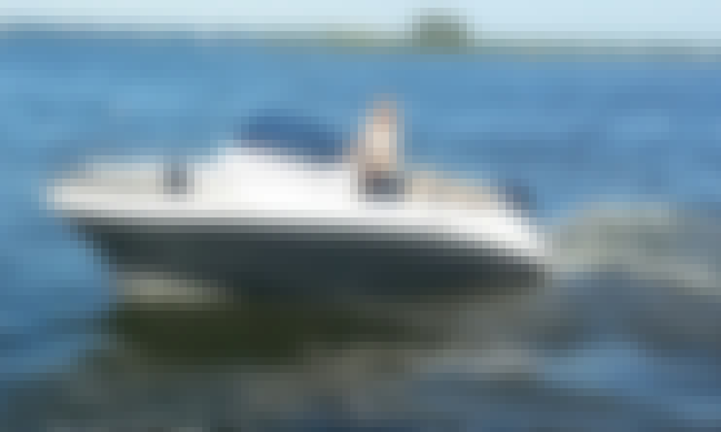 Hire the 18' AM Power Boat in Wilkasy, Poland