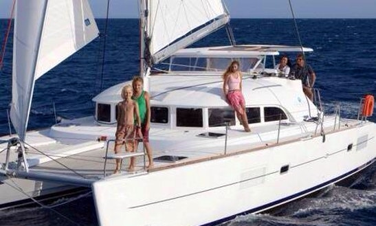 Charter The 37ft Lagoon 380 Cruising Catamaran In Açores, Portugal