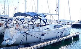 "Charter 43ft ""Josefina"" Cruising Monohull In Novi Vinodolski, Croatia"