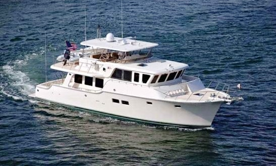 Charter 64' Outislander Trawler In Stuart, Fl