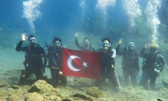 Relax And Enjoy A Diving Trips And Courses In Muğla, Turkey