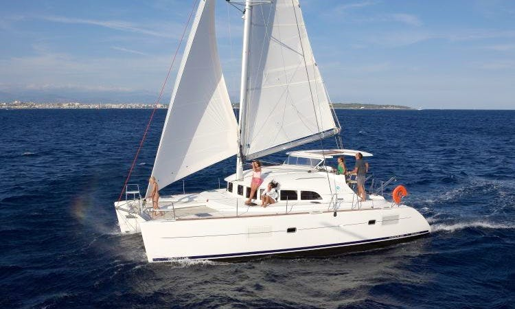 Charter the Lagoon 380 Cruising Catamaran in Lisboa, Portugal