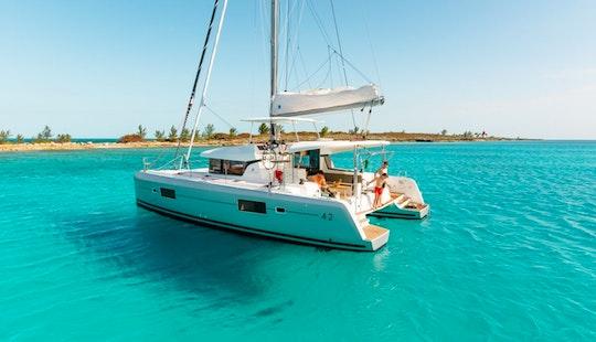 Hire The 42ft Lagoon Sailing Catamaran In Lisboa, Portugal