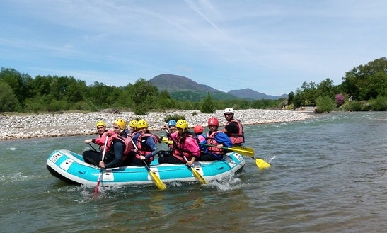 Whitewater Rafting Trip In Ionas River, Greece