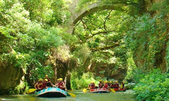 Rafting Experience In Peloponnese, Greece