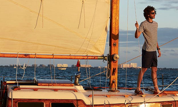 Classic Sailboat for Bay Tours in Miami