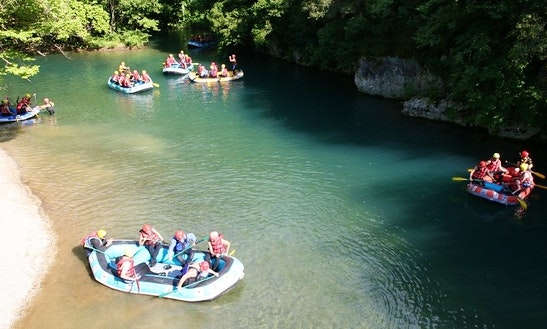 Rafting In Voidomatis River, Greece