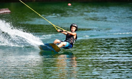 Enjoy Wakeboarding In Wittisheim, France