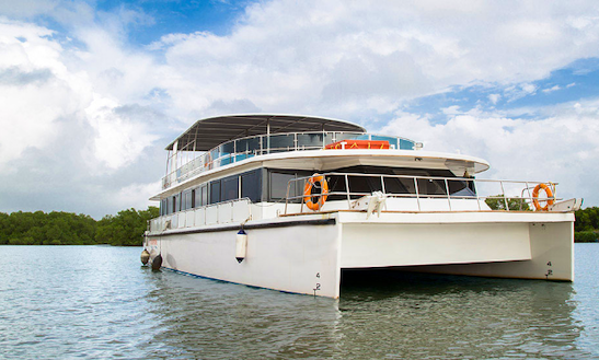 Charter 50' Power Catamaran In Goa, India