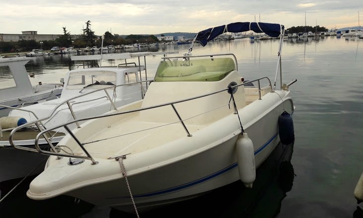 22' Arkos Sun Deck Boat Rental In Lopar, Croatia