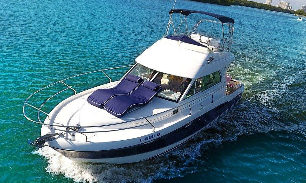 34' Beneteau Sport Cruiser for Rent - 6 People