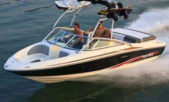 Rent The 24'  Sea Ray Bowrider In Bass Lake California