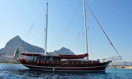 Charter 79' Latife Sultan Gulet In Lipari, Italy