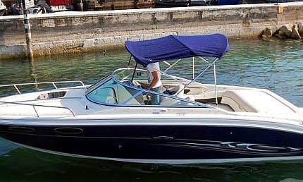 Rent the Sea Ray 240 SSE Bowrider in Brenzone sul Garda, Italy