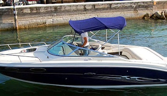 Rent The Sea Ray 240 Sse Bowrider In Brenzone Sul Garda, Italy