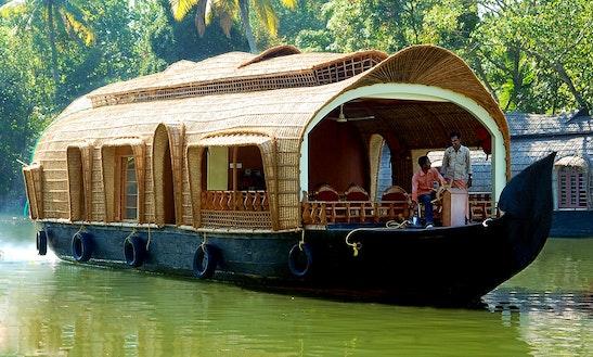 Rent A Houseboat In Kumarakom, Kerala For 2 Pax