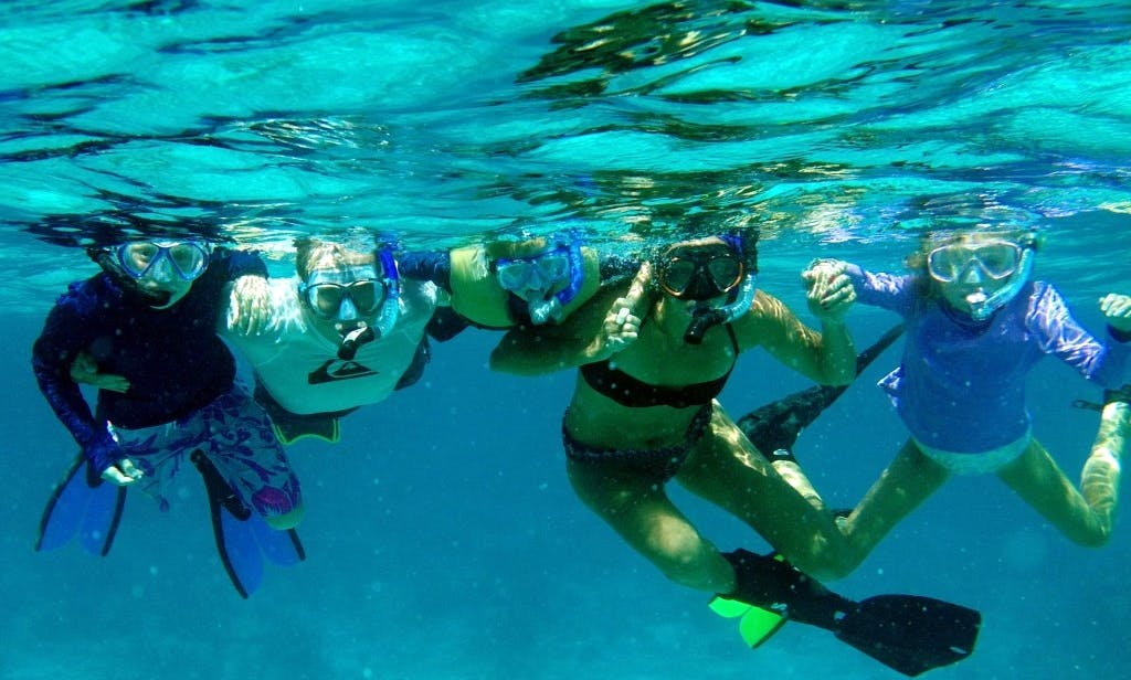Snorkeling, kayaking, and paddleboarding in West Palm Beach