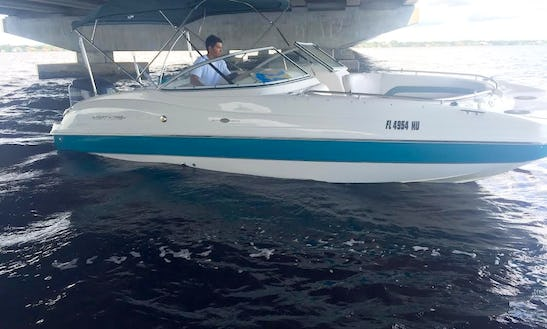 Rent The 24ft Hurricane Bowrider Boat In Cape Coral