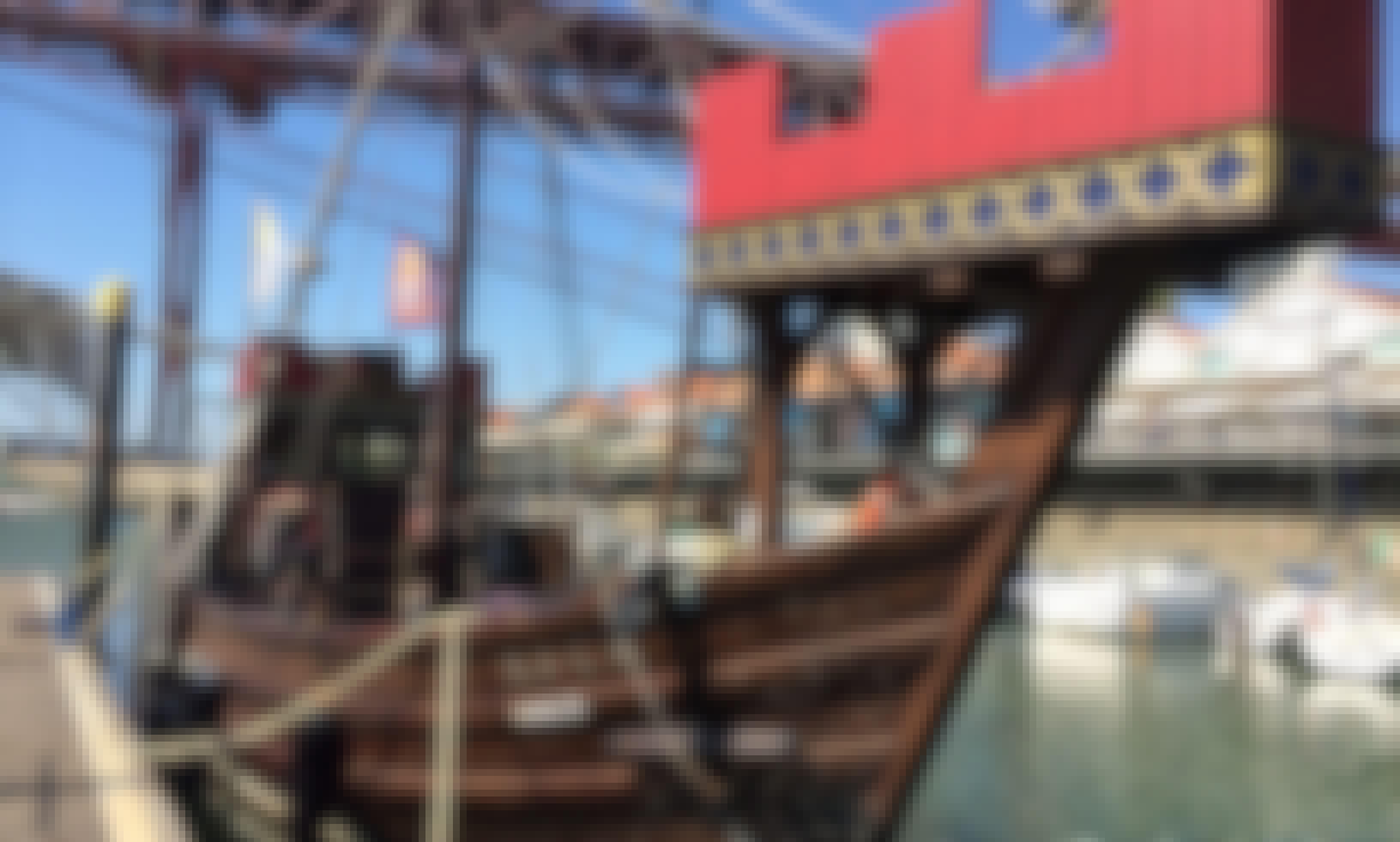 "Discover Lisbon, Portugal on 52ft ""Arca"" Sailboat"