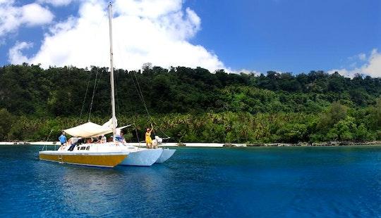 Charter A 42' Trimaran In Port Vila, Vanuatu