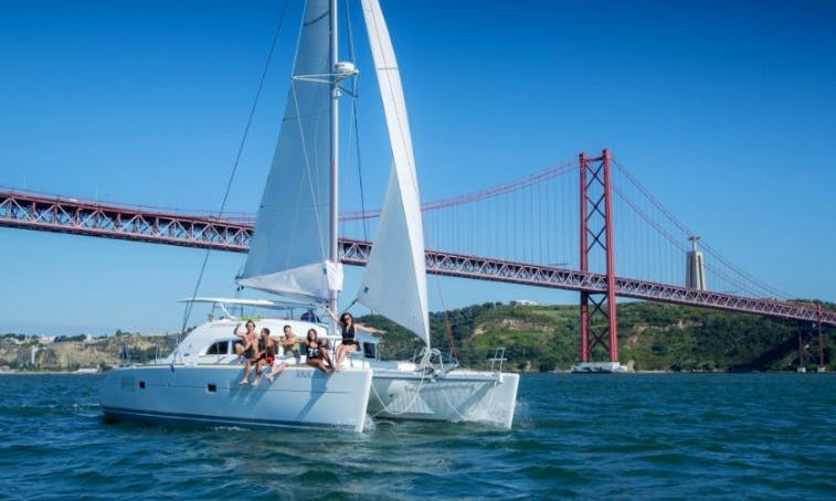 Charter the 38ft Lagoon Sailing Catamaran in Lisboa, Portugal