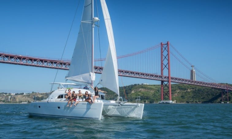 Charter the 38ft Lagoon Sailing Catamaran in Lisboa, Portugal