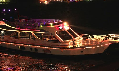 Party Boat Cruises on 70 Person Power Mega Yacht in Al Manyal Al Gharbi, Giza Governorate