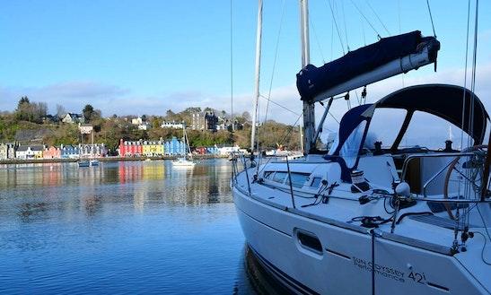 Charter 42' Cruising Monohull In Scotland