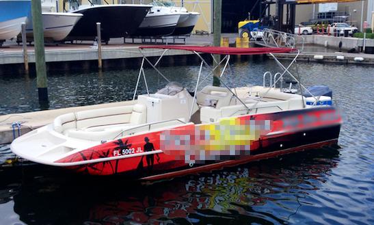 24' Harris Legend Power Catamaran In Key West, Florida
