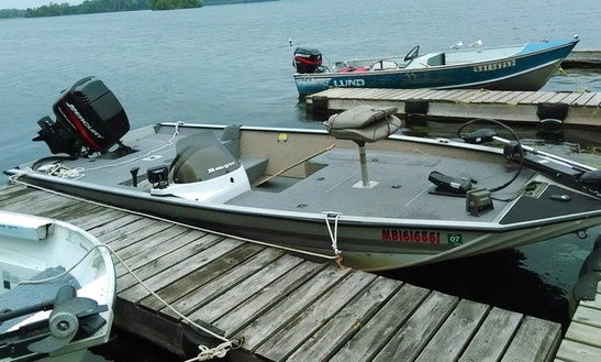 Enjoy The 18' Bassboat In Ennismore, Ontario