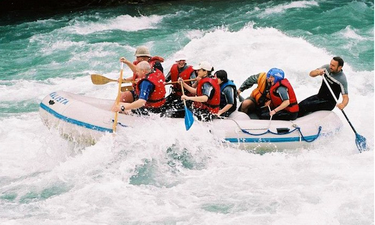 Rafting In Bastasi, Bosnia And Herzegovina