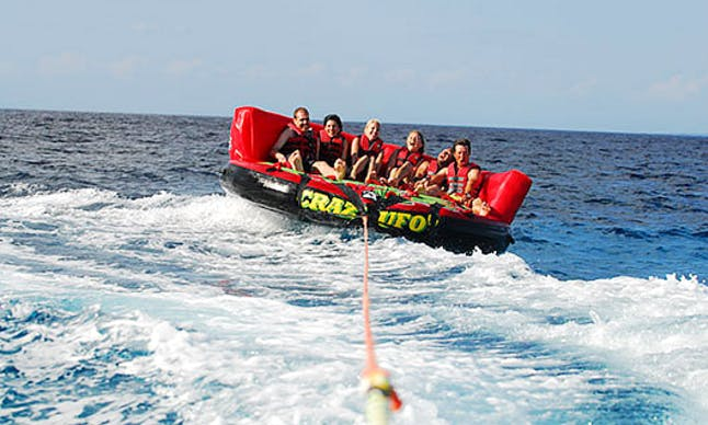 Enjoy Crazy Ufo Tube Rides in Albufeira, Portugal