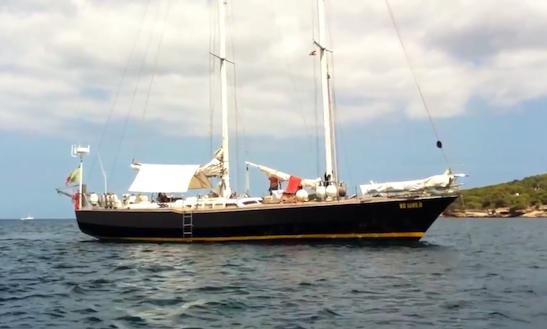 Charter 60' Schooner In Palermo, Sicilia