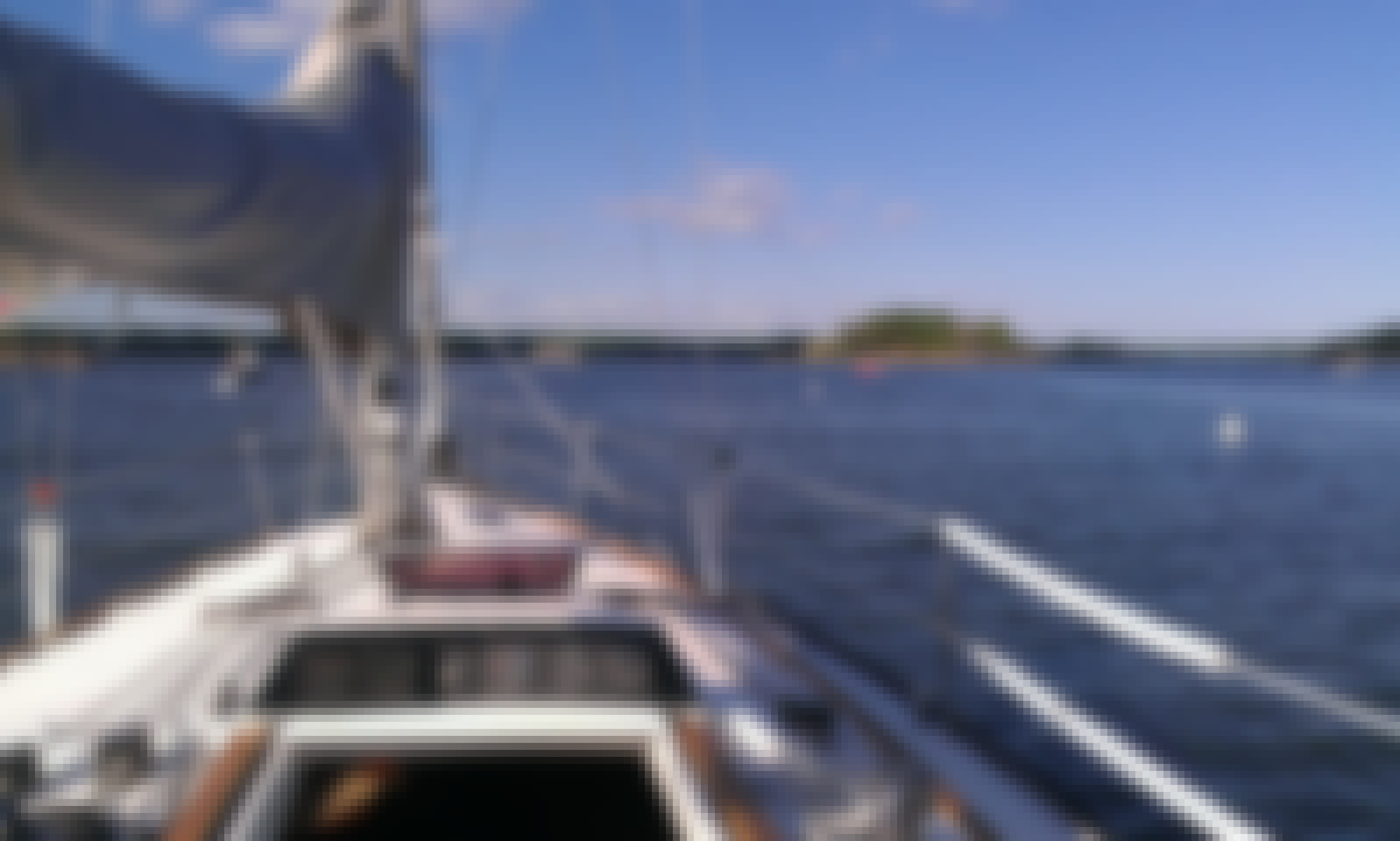 Sail the Thimble Islands on the classy 35' Nomade
