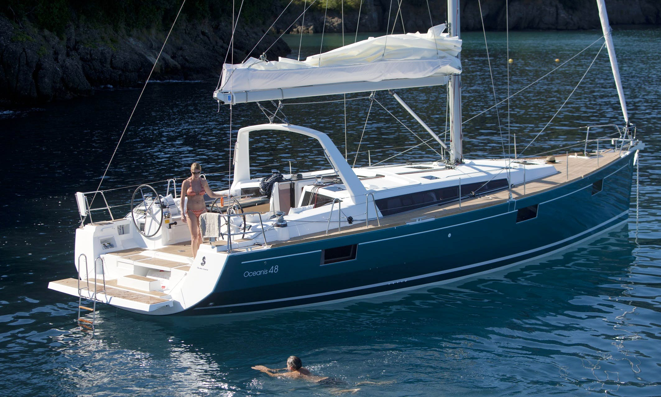 """Beneteau Oceanis 48 """"Anthea"""" Sailing Yacht Charter in Scarlino, Italy"""