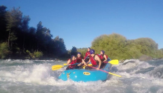 Enjoy Rafting In Pucon, Chile With Guides