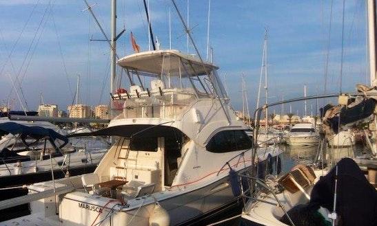 Douqueve Flybridge 11.5m Boat Rental In La Manga, Murcia, Spain