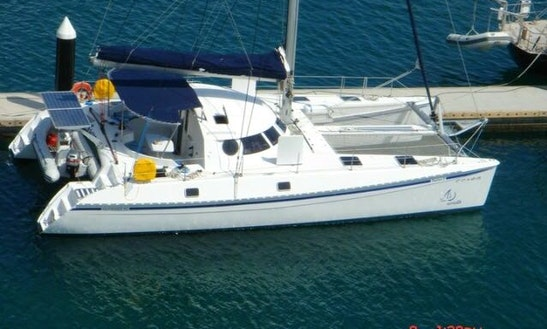 Cruising Catamaran Rental In Islas Menores
