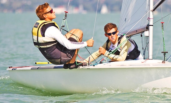 Rent 16' Sailing Dinghy In Balatonfüred, Hungary