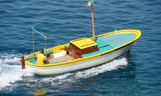 Rent 27' Center Console for Amalfi Coast Sightseeing in Praiano, Campania