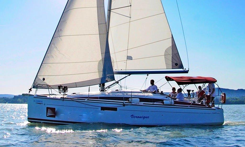 Charter 34' Cruising Monohull in Balatonfüred, Hungary