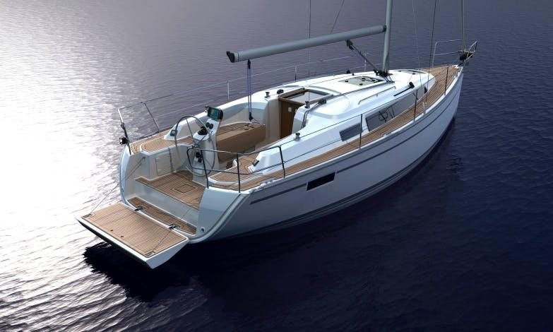 "Charter 33ft ""Driáda"" Bavaria Cruising Monohull In Lipno, Czechia"