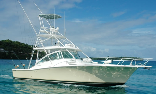 Charter Fishing In  Port Vila, Vanuatu On 40' Sport Fisherman