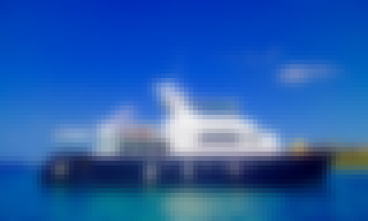 Charter this 80' Grand Alaska Power Mega Yacht in Cancún