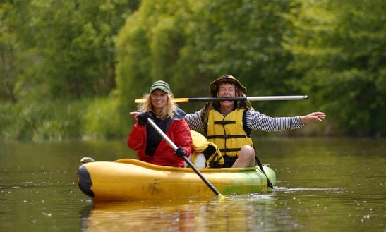 Canoe Rental And Trip In Rožmberk Nad Vltavou