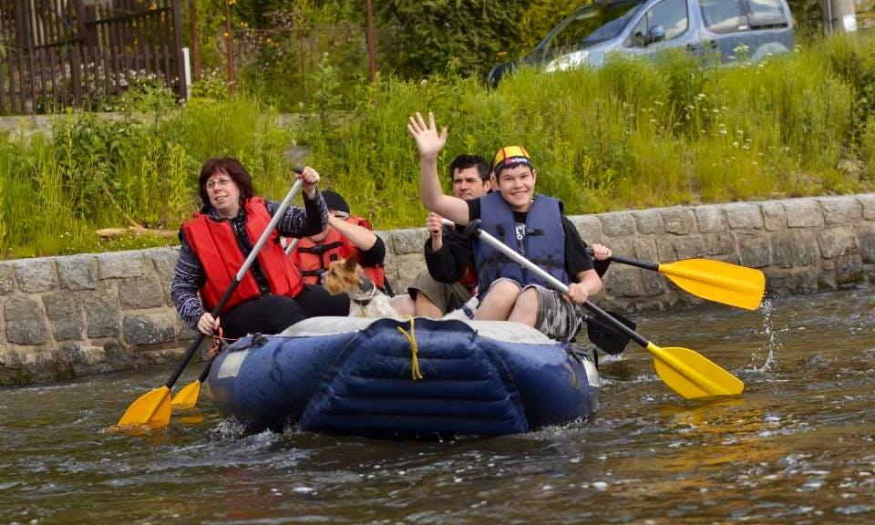 Rafting Tour and Rental in Rožmberk nad Vltavou