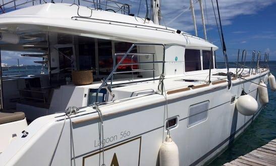 Charter Lagoon 500 The Most Luxurious Sailing Catamaran In Cancún
