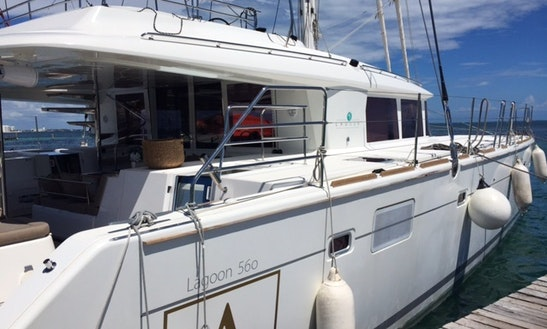 Charter Lagoon 500 The Most Luxurious Sailing Catamaran In Cancún